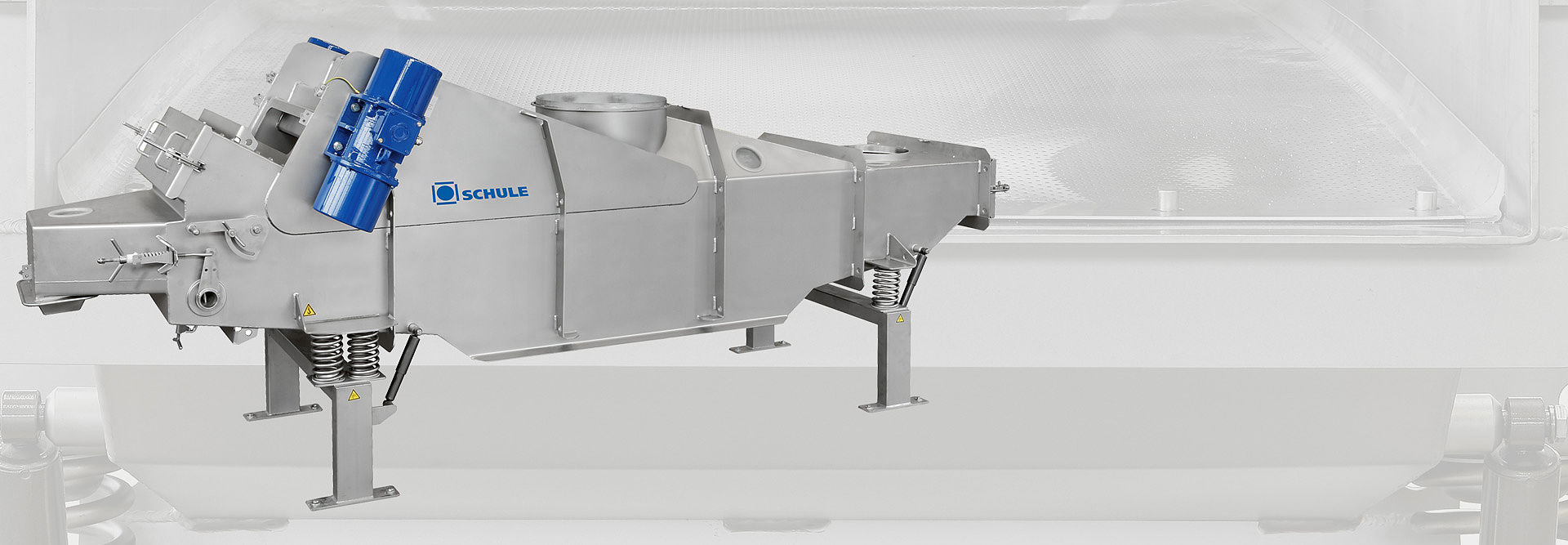 Picture of a SCHULE fluidised bed cooler